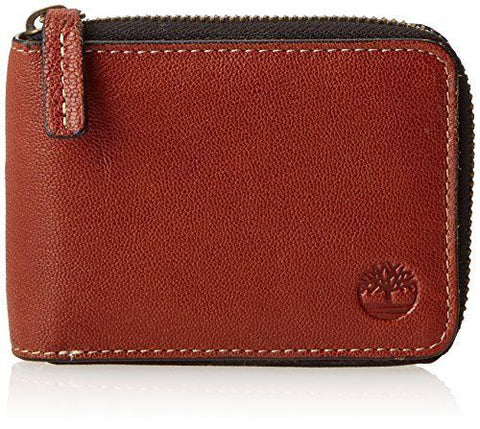 Timberland Men's Brown Cavalieri Ziparound Wallet