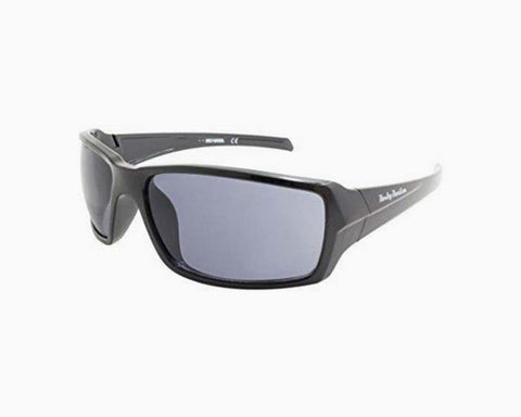 Harley-Davidson Men's H-D Script Sunglasses, Black Frame & Smoke Gray Lenses