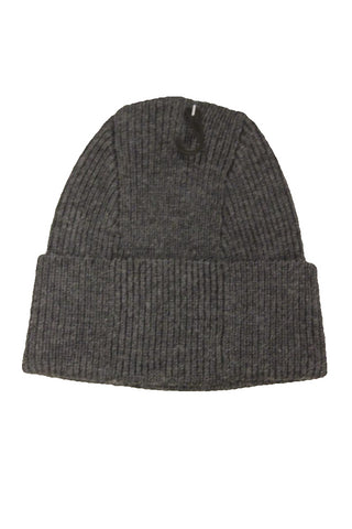 Bloomingdale's Men's Dark Gray Ribbed Beanie