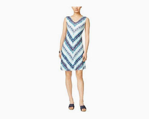 Style & Co. Crisscross-Back Dress (Endless Summer, XXL)