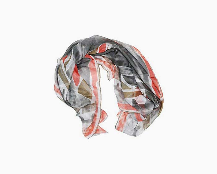 Steve Madden Women's Ocean Brush Strokes Lightweight Fashion Scarf