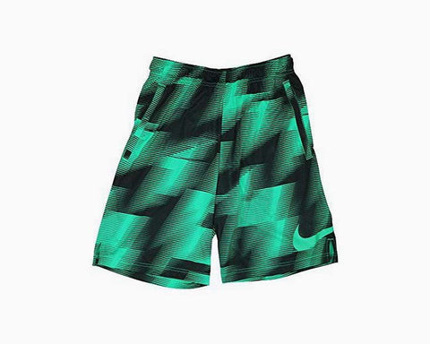 "Nike Men's Dry Dri Fit 9"" Printed Training Athletic Shorts (XX-Large)"