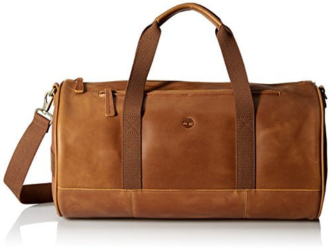 Timberland Men's Tuckerman Leather Duffel Bag