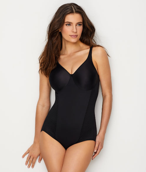 Bali Black Passion for Comfort Firm Control Bodysuit, Size 40D
