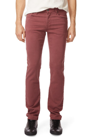 J Brand Men's Maroon Kane Straight Fit Jeans, Size 34