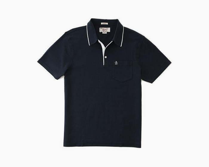 Original Penguin Contrast Trim Basic Polo - Navy - NWT – Cheap Maggie s c7bce6bcf7e5a