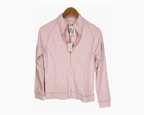 Peter Millar Women's 100% Cotton Full Zip Performance Jacket - Pink