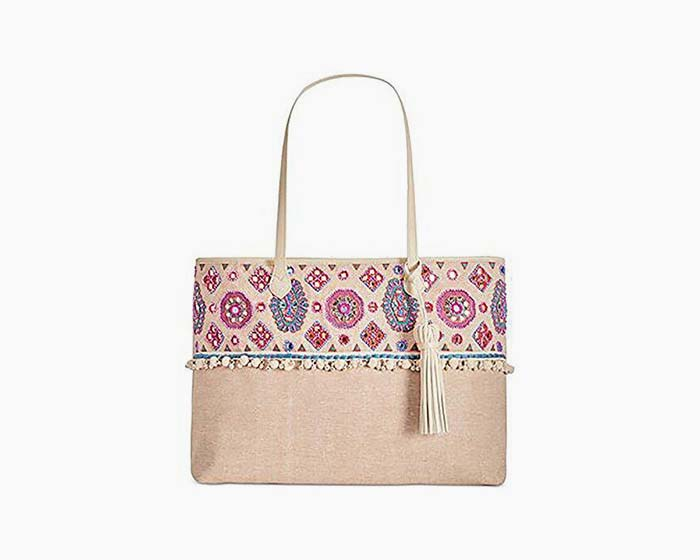 Angel By L. Martino Extra-Large Boarding Tote Multi
