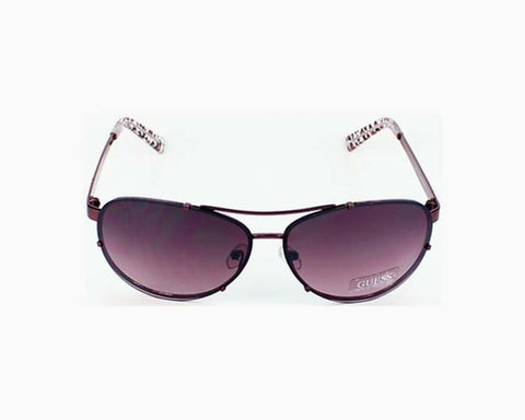 GUESS Sunglasses GU 7223 RSP-35 Crystal Opal Red / Gray Gradient 53-20-13 GU7223