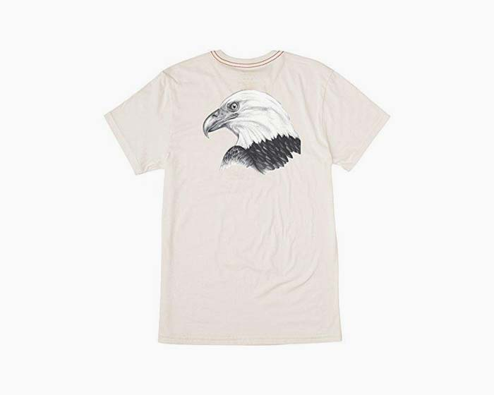 RVCA Men's Eagle Head T-Shirt