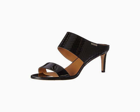 Calvin Klein Women's Cecily Dress Sandal, Black, 8 M US