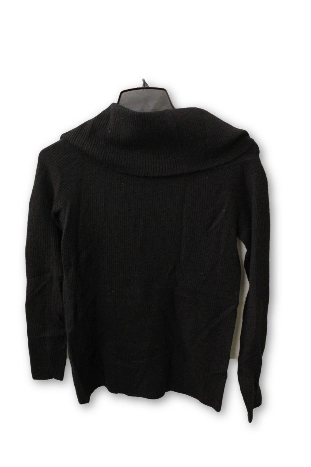 C by Bloomingdale's Women's Cashmere - Black Cowl Neck Sweater S NWT