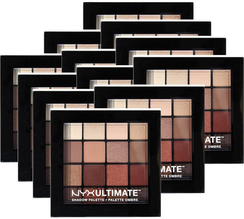 Nyx Cosmetics Warm Neutrals Ultimate Shadow Palette 12 Pack