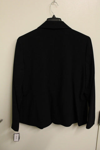 Nine West Women's Black Blazer, Size 14W