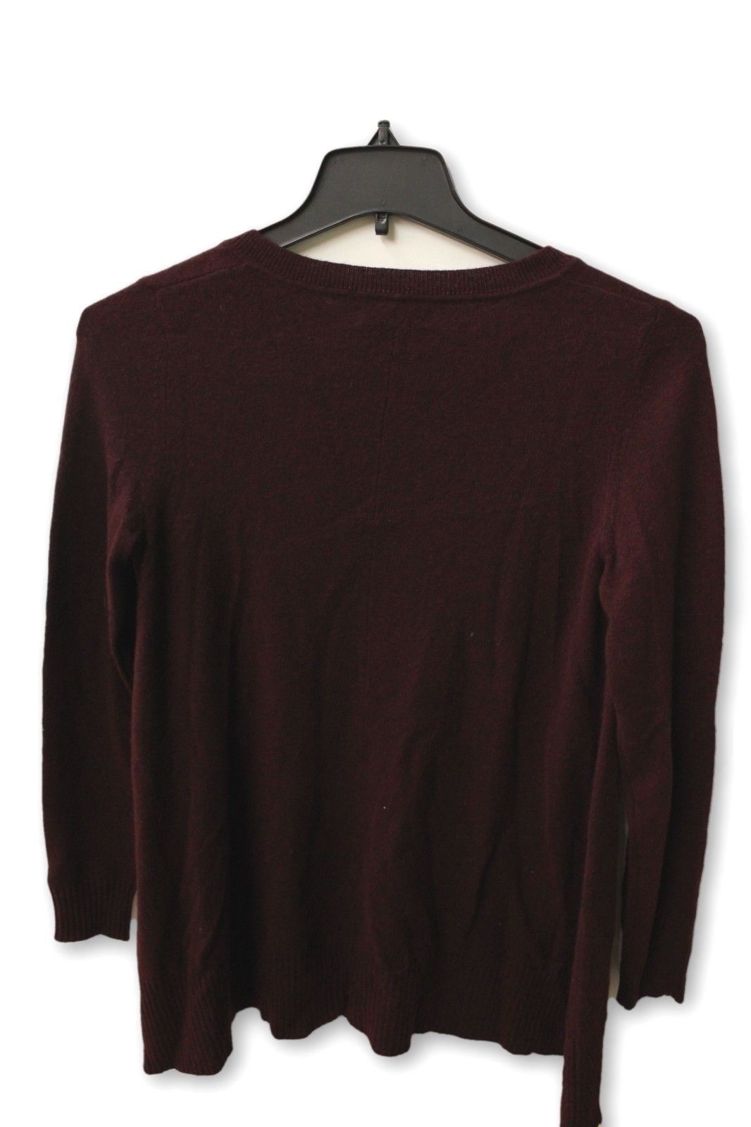 C by Bloomingdale's Women's Cashmere - Maroon Crewneck Sweater NWT