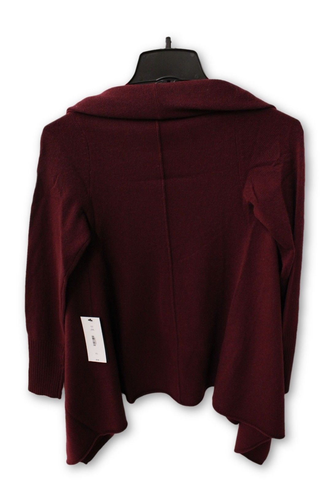 C by Bloomingdale's Women's Cashmere - Maroon Cardigan XS NWT