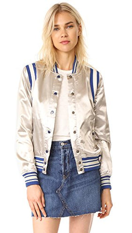 Scotch & Soda Maison Scotch Women's Silky Sporty Bomber Jacket