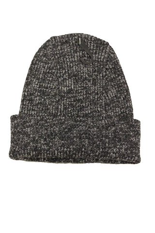 Bloomingdale's Men's Speckled Gray Ribbed Beanie