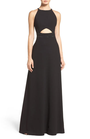 Aidan by Aidan Mattox Embellished Crepe Gown Size 0