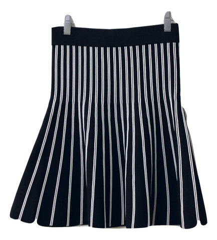 Maje Women's Black/White Skirt