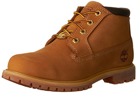 Timberland Women's Nellie Double WP Ankle Boot,Wheat Yellow,9 M US