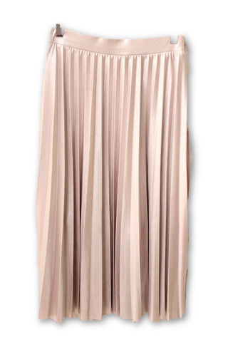Rachel Roy Women's Shiny Pleated Skirt S