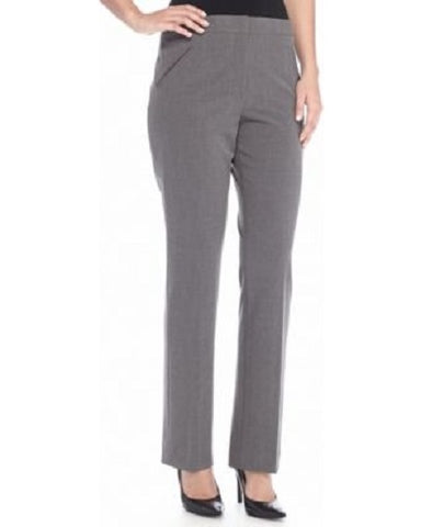 Tahari ASL Women's Gray Slim Pants, Size 6
