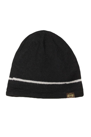 Weatherproof Men's Black Fleece Lined Beanie