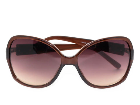 Guess Women's Sunglasses GUF 222 BRN-34 Designer Brown 60-15-140 Rhinestones
