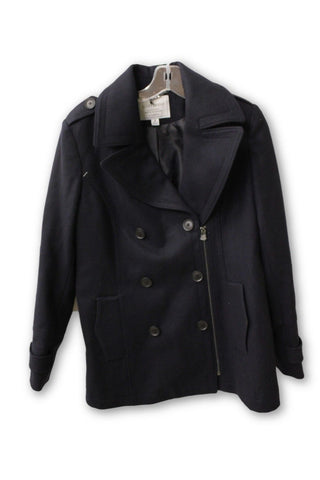 Lucky Brand Women's Assymetrical Peacoat M NWT