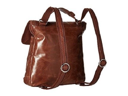 The Sak Ventura Leather Backpack Convertible Purse Tote, Tobacco Tan NWT