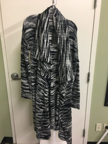 Guess Black And White Women's Coverup