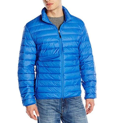 32 Men's Degrees Ryal Blue Nano Light Packable Jacket, Size M NWOT