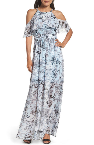 Vince Camuto Popover Maxi Dress Size 4