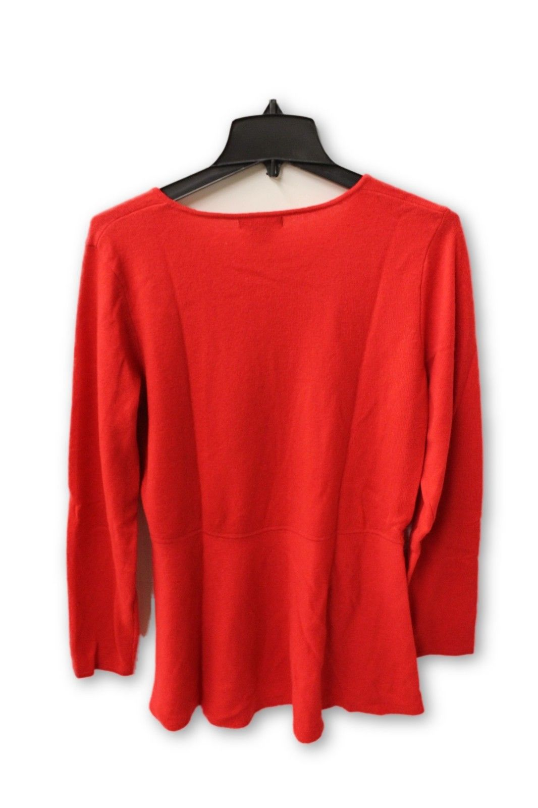 C by Bloomingdale's Women's Cashmere - Red Crew Neck Sweater XL NWT