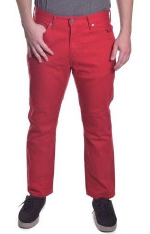 Levis 541 Men's Athletic Fit Denim Jeans Cherry Red, NWT, $69.50