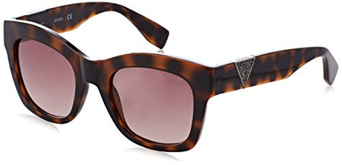GUESS Women's Amber Square Tortoise Sunglasses