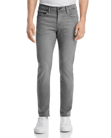 J Brand Men's Beat Train Gray Slim Fit Jeans, Size 34