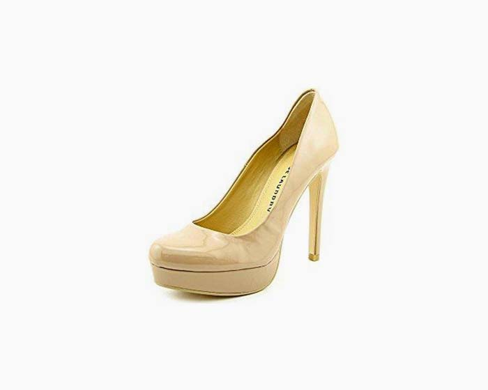 Chinese Laundry Wonder Women US 6 Nude Platform Heel