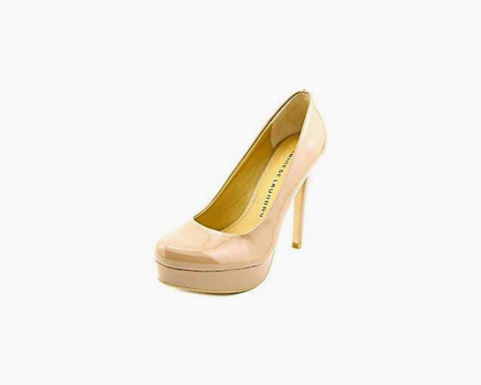 Chinese Laundry Wonder Platform Dress Heels, Nude, 5 US