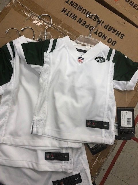 quality design 5687b eb816 NY Jets Kids Nike White Game Jersey, NWT