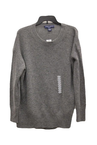 ebe67923f51 Chelsea and Theodore Women s Gray Cashmere Sweater
