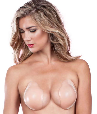 Fashion Forms Nude Silicone Skin Cleavage Enhancer, Size D