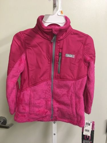32 Degrees Girl's Pink Fleece Jacket NWT