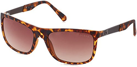 GUESS Eyewear Rectangle Sunglasses (Tortoise)