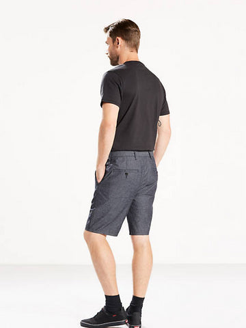 Levi's Men's Straight Chino Shorts In Caviar Chambray Size 34 NWT