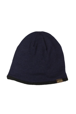Weatherproof Men's Navy Fleece Lined Beanie