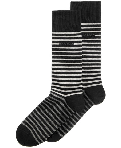 Hugo Boss Men's Striped Socks NWT