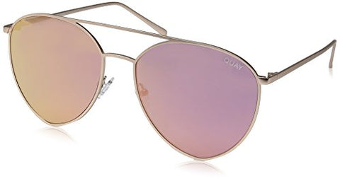 Quay Women's x Jasmine Sanders Indio Sunglasses, Gold/Pink, One Size