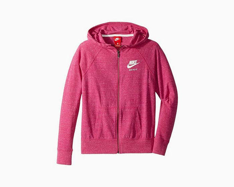 Nike Girls Sports Vintage Full Zipper Hoodie Jacket - Pink - NWT - $44
